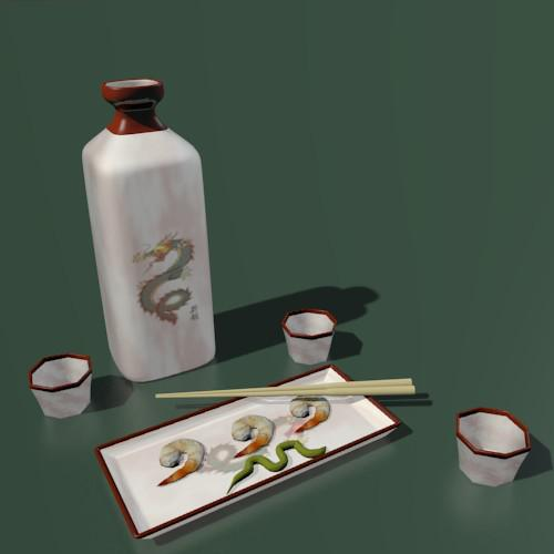 Another Sake Set preview image