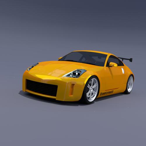 Nissan 350z GT  preview image