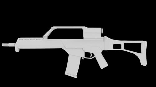 G-36 assault rifle preview image