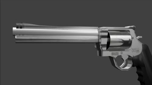S&W .500 cal revolver preview image