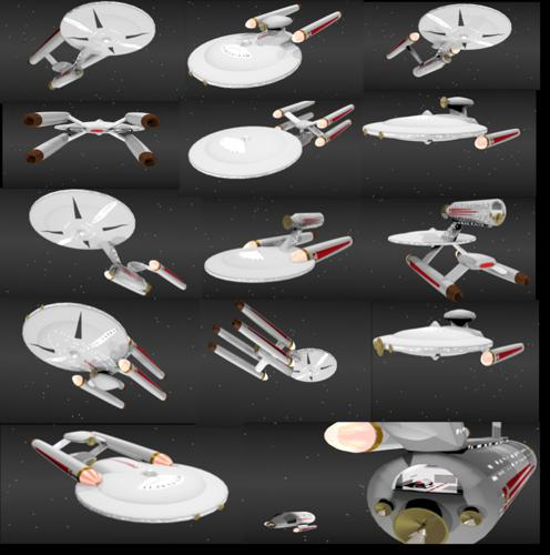 ST TOS s style ships designs preview image