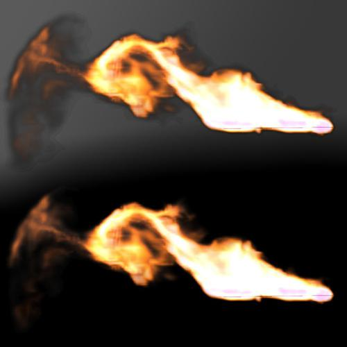 Realistic Fire Simulation preview image