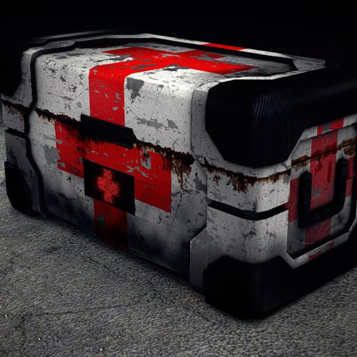Low Poly Health Crate preview image