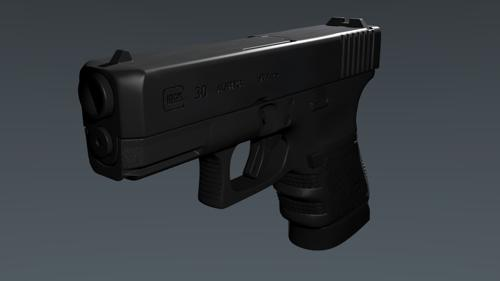 Glock 30 High Poly preview image