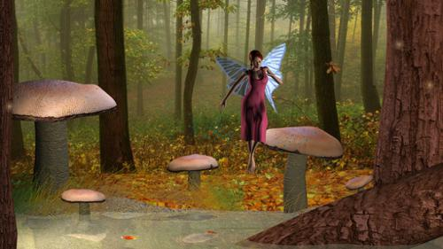 Fairy in the Forest preview image