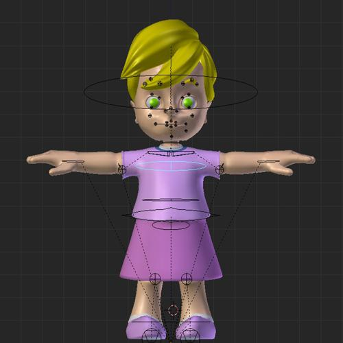 little girl preview image