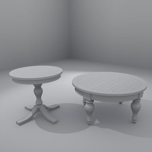 Round Coffee and Side Tables hydn preview image