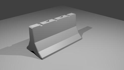 Concrete Barrier preview image