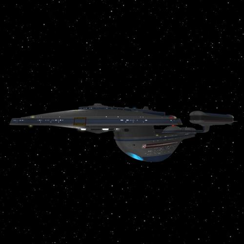Starship USS Excelsior NCC-2000 preview image
