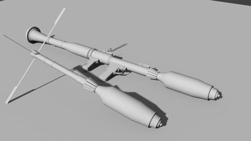 RPG 7 with TBG7V Thermobaric Rocket preview image