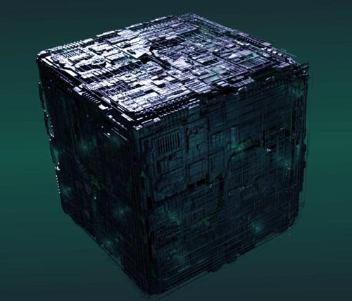 Borg Cube Shipyard Derivative  preview image