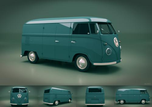 1950's VW Van Cycles preview image