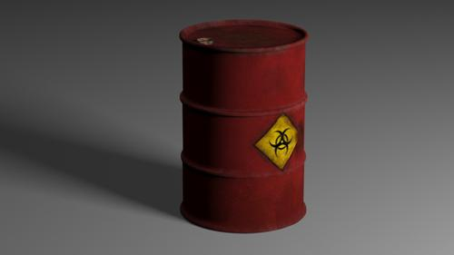 Rusty Oil Barrel preview image