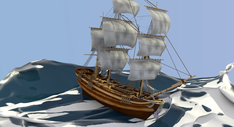 HMS BOUNTY VESSEL 1789 preview image 1