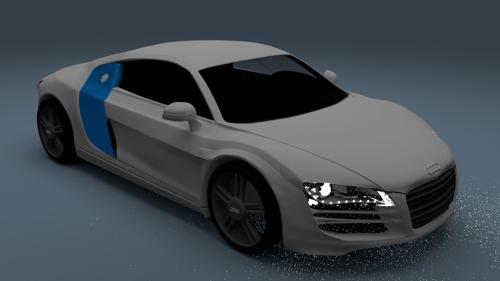 another audi r8 preview image
