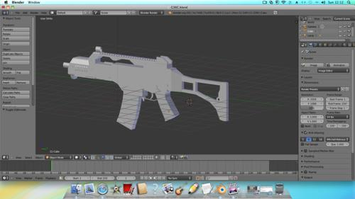 G36C No Texture  preview image
