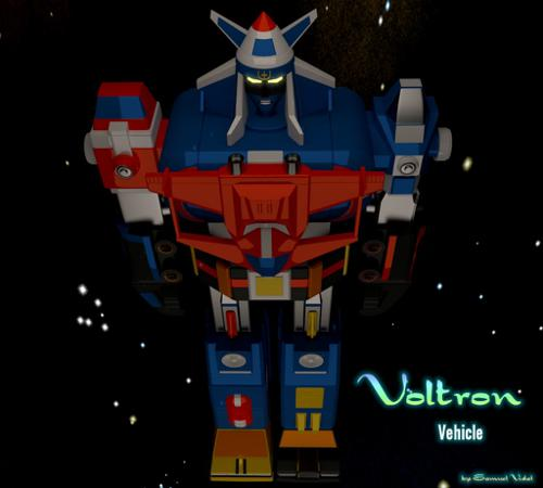 Voltron Vehicle preview image