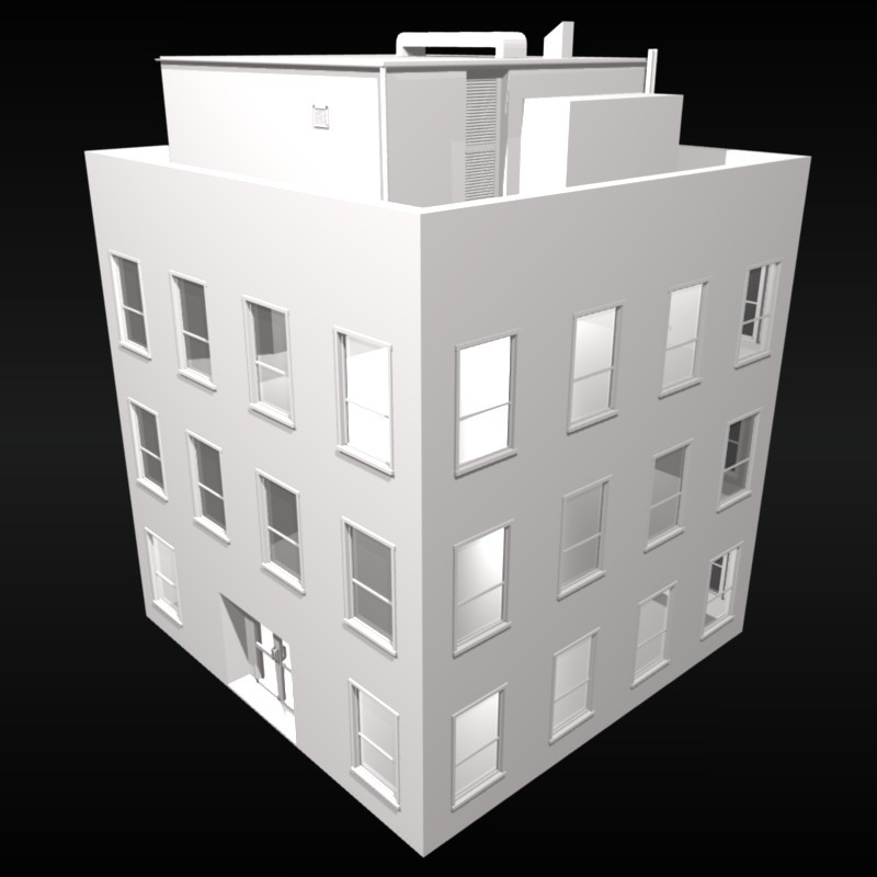 Small 3 Storey Building preview image 1