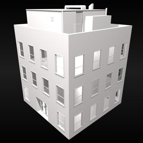 Small 3 Storey Building preview image