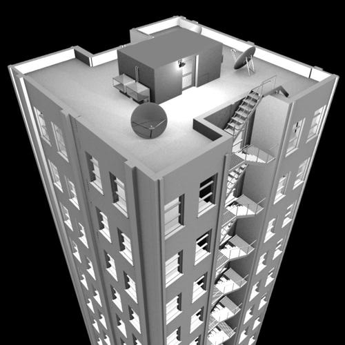 Appartment Building 12 storey preview image