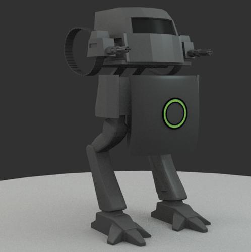 Robot  rigged preview image