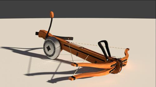 Dual-bow crossbow - Cycles preview image