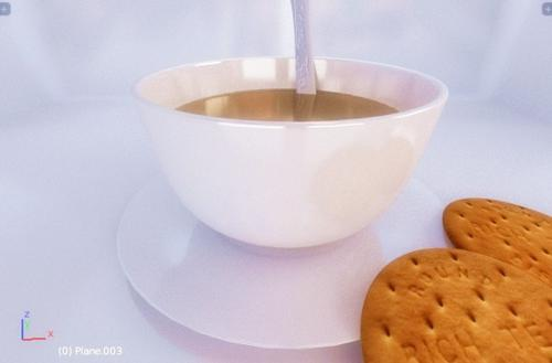 Tea with biscuits preview image