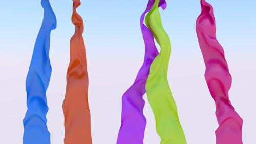 Colorful Cloth Sim preview image