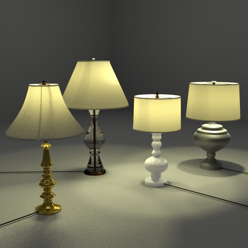 Four Lamps preview image 1