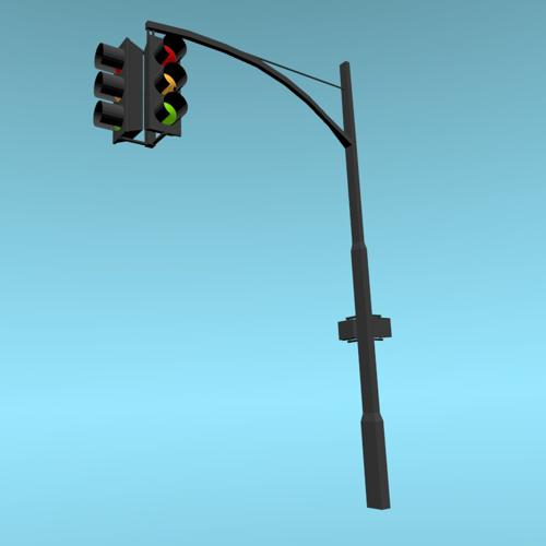 Traffic Lights USA Style preview image