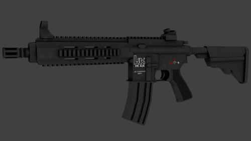 Heckler & Koch 416 Retextured preview image