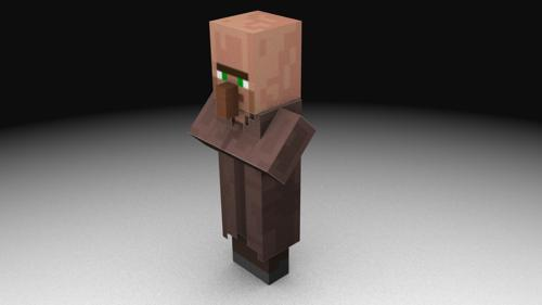 Minecraft Testificate  NPC Villager preview image