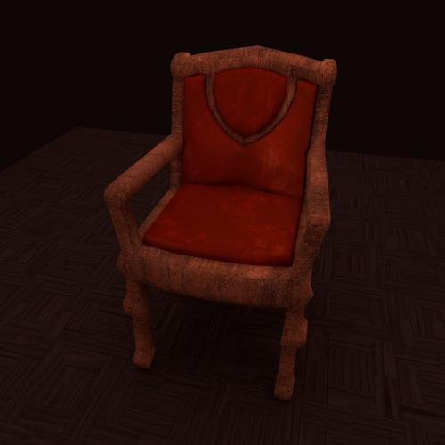 Game Ready Chair Model preview image