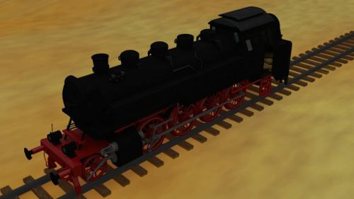 BR86 Steam Locomotive preview image