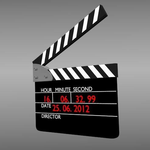 Film/Video Slate/Clapperboard/Clapboard Alarm clock preview image