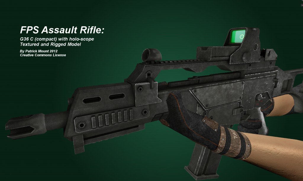 FPS Assault Rifle preview image 1