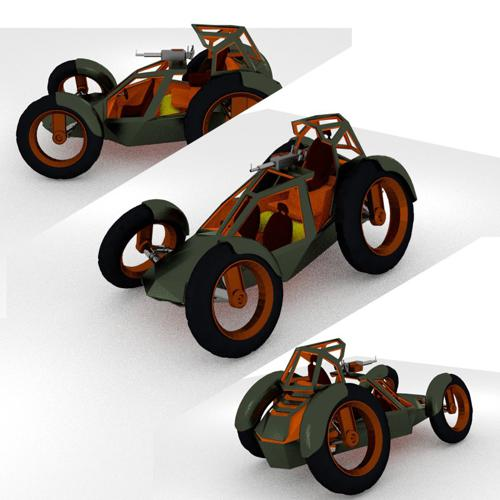Armed Dune Buggy preview image