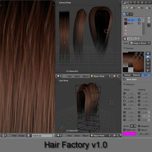 Hair Factory v1.0 preview image