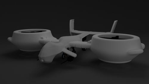 Flying Combat Drone preview image