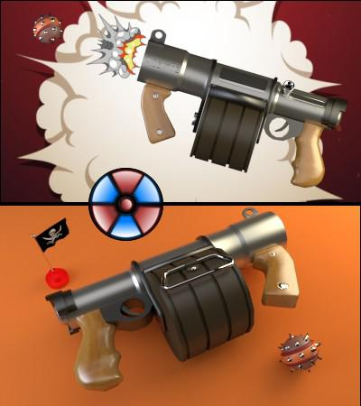 Sticky Bomb Launcher preview image
