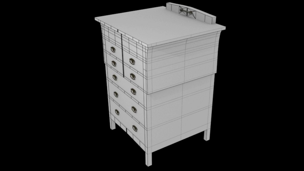 Chest of drawers preview image 1