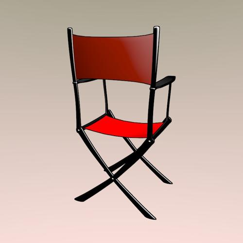 Movie director chair preview image