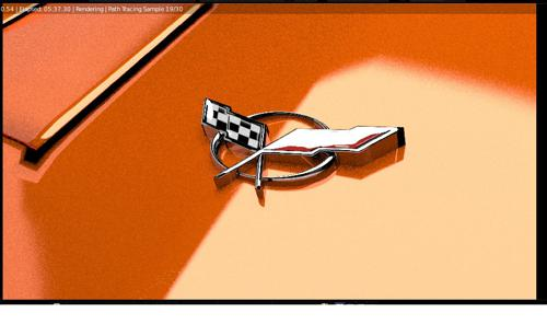 Corvette Hood Ornament preview image