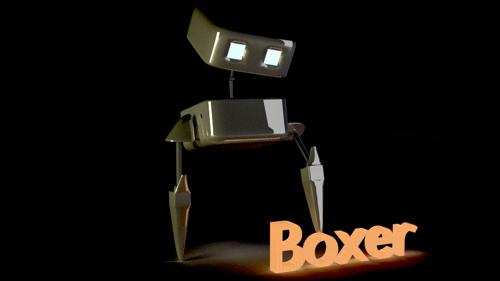 Boxer the robot preview image