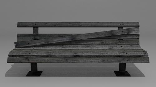 Old Park Bench preview image