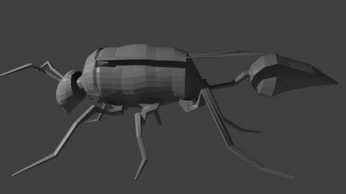 Simple Wasp Model preview image