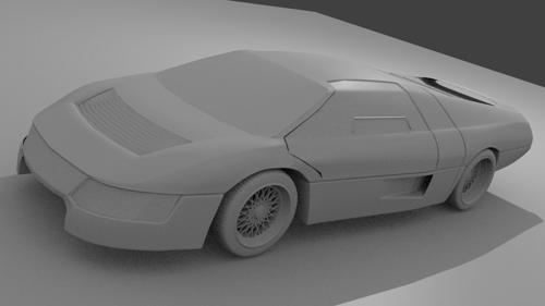 Dodge M4S - AKA The Wraith/Turbo Interceptor preview image