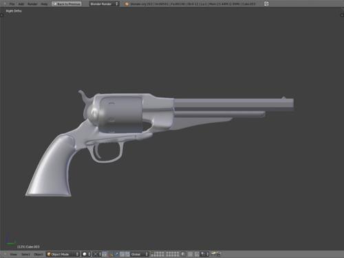 Remington 1861 Army Revolver preview image