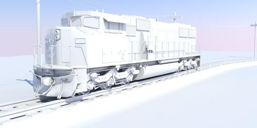 SD60M locomotive preview image
