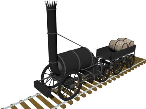 Steam Locomotive Aniamtion preview image